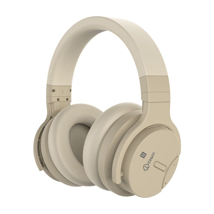 COWIN E7 Active Noise Cancelling Bluetooth Headphones - Gold