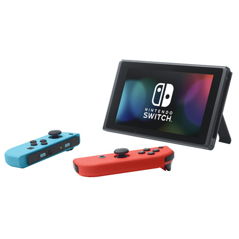 Nintendo Switch (Neon Blue/Red) with Mario Kart Live (Mario) + Cleaning Cloth