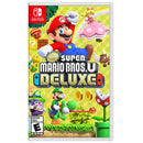 New Super Mario Bros. U Deluxe + Minecraft - Two Game Bundle - Nintendo Switch