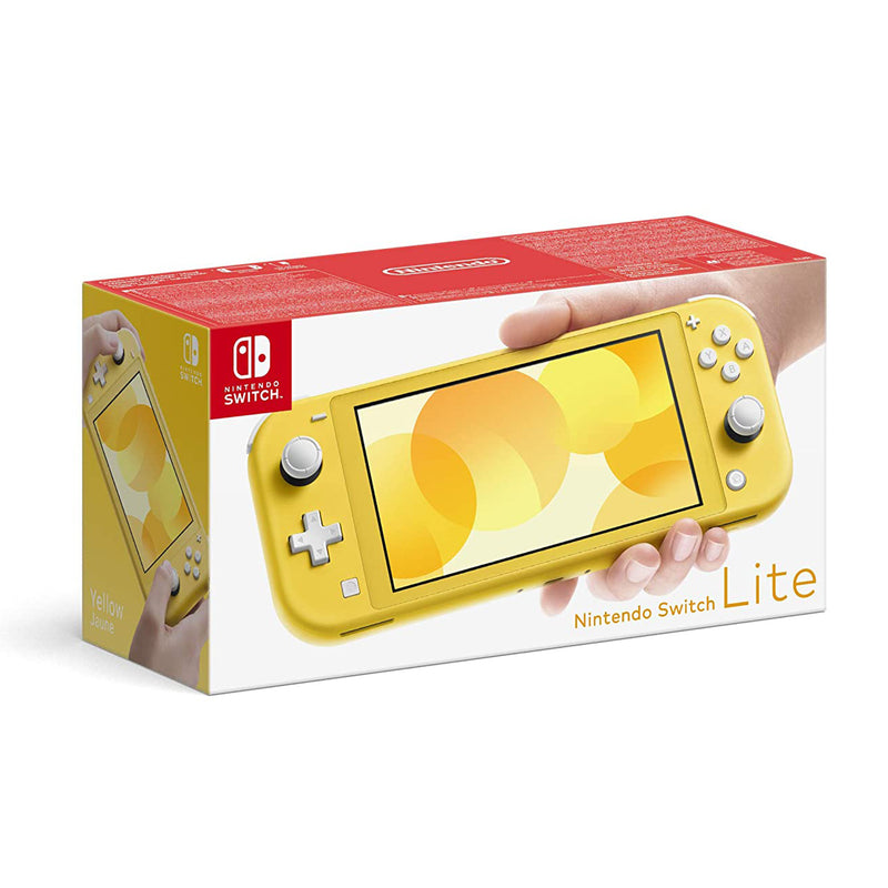 Nintendo Switch Lite (Yellow) Bundle with Minecraft Dungeons + Cleaning Cloth