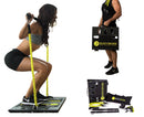 BodyBoss Home Gym 2.0 - Full Portable Gym Home Workout Package - Yellow
