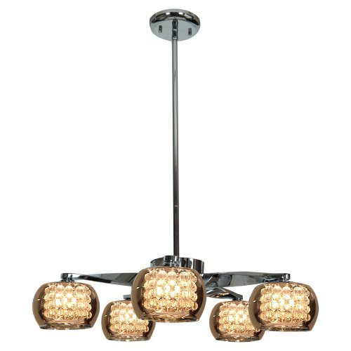 Access 52120 Glam 5-lt Chandelier