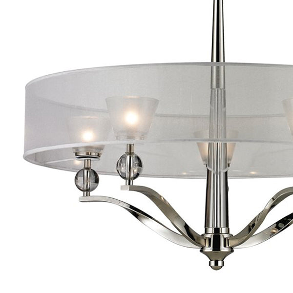 "ELK 31292/5 Corisande 5-lt 30"" Chandelier - LBC Lighting"