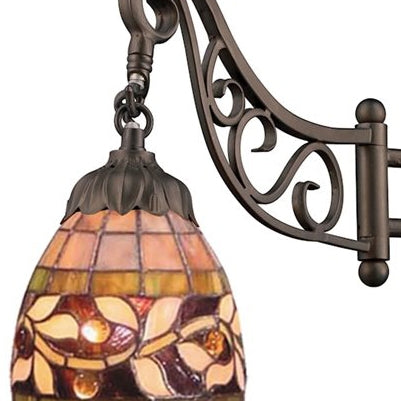 ELK 079-TB-13 Mix N Match 1-lt Swing Arm Wall Sconce
