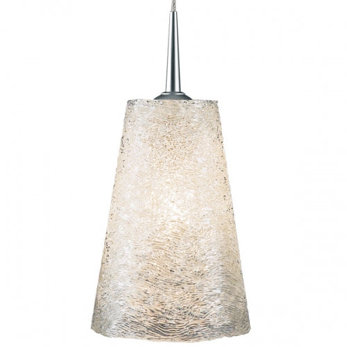 "Bruck Bling II LED Pendant with 4"" Monopoint Canopy"