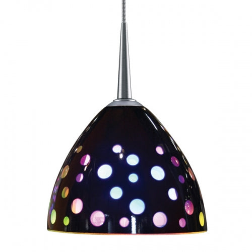 "Bruck Rainbow II LED Pendant with 4"" Monopoint Canopy"