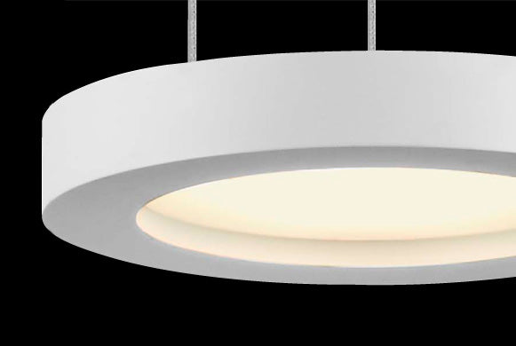 Sonneman 2405 Chromaglo Bright White LED Round Pendant