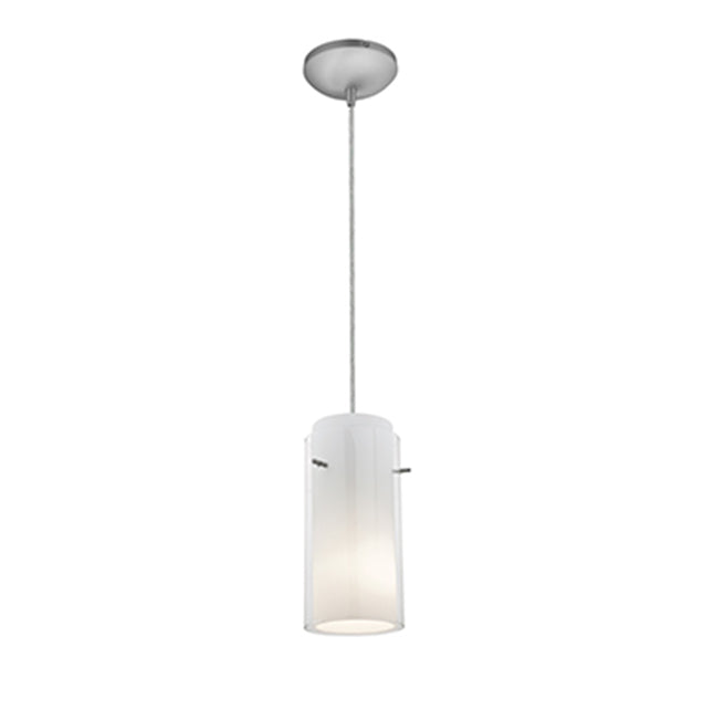 Access 28033 Sydney 1-lt Glass in Glass Cylinder Pendant