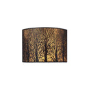 ELK 31070/2 Woodland Sunrise 2-lt Wall Sconce