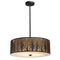 ELK 31075/5 Woodland Sunrise 5-lt Chandelier