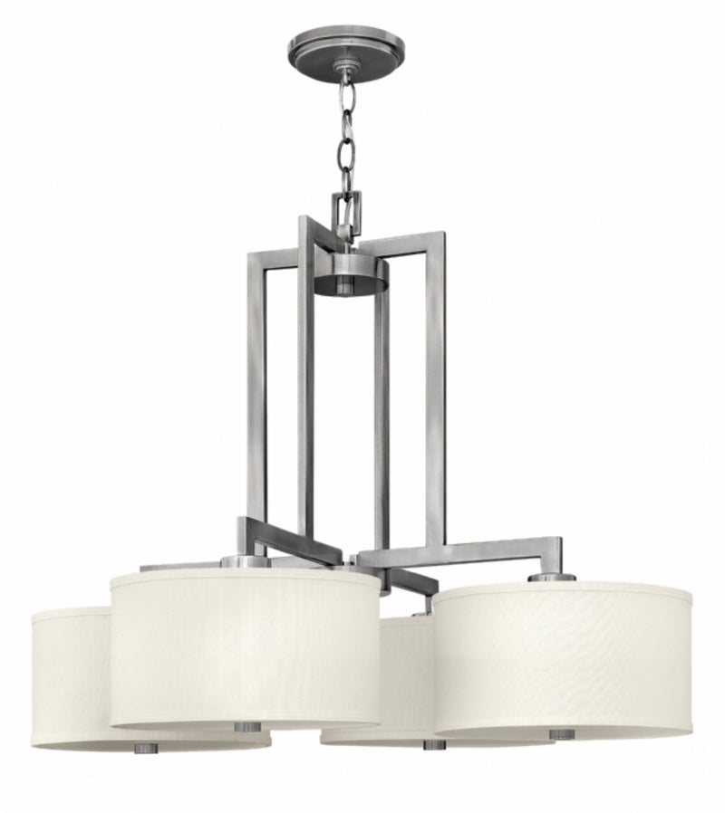Hinkley 3214 Hampton 4-lt Chandelier