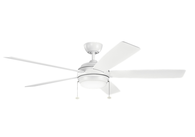 "Kichler 330180 Starkk 60"" LED Ceiling Fan"