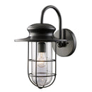 "ELK 42285/1 Portside 11"" Wide Outdoor Wall Sconce"