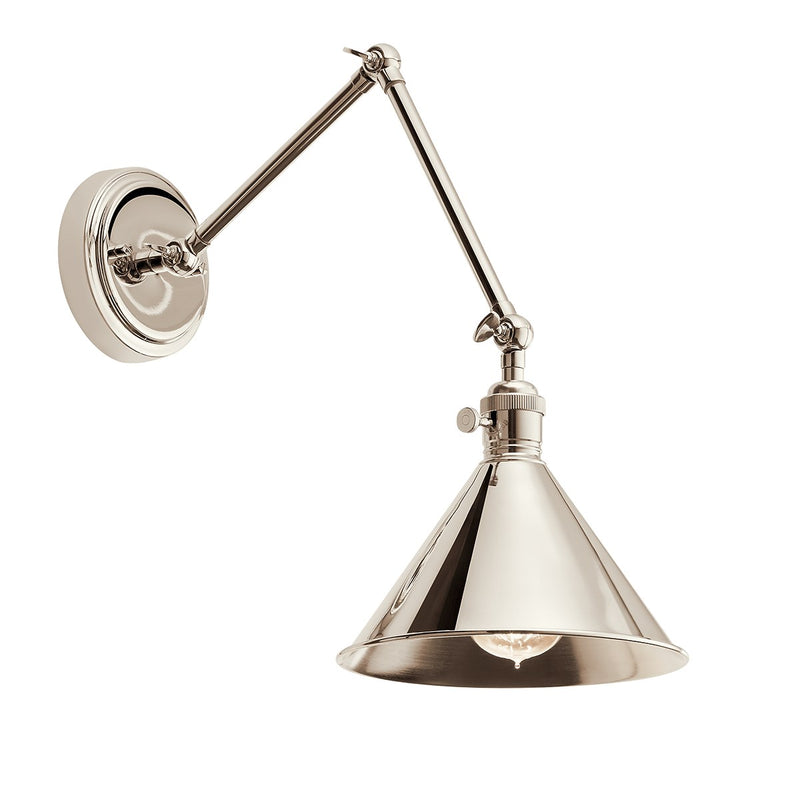 Kichler 43115 Ellerbeck 1-lt Swing Arm Wall Sconce - LBC Lighting