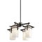 Kichler 49638 Caterham 4-lt Outdoor Chandelier - LBC Lighting