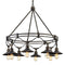 "Troy F7598 Shelton 8-lt 29"" Tall Outdoor Chandelier"