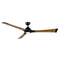 "Modern Forms FR-W1814-72L Woody 72"" Ceiling Fan with LED Light Kit, 2700K"