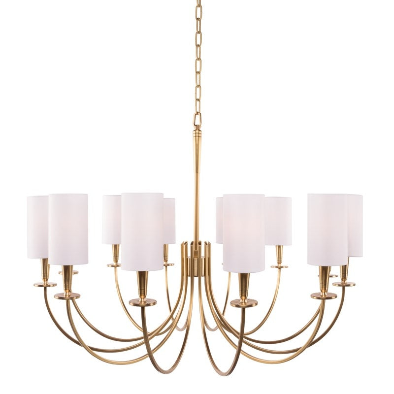 Hudson Valley 8032 Mason 12-lt Chandelier