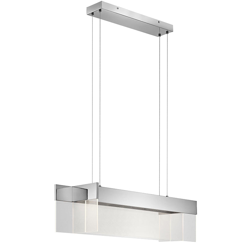 "Elan 83732 Geo LED 37"" Linear Pendant - LBC Lighting"