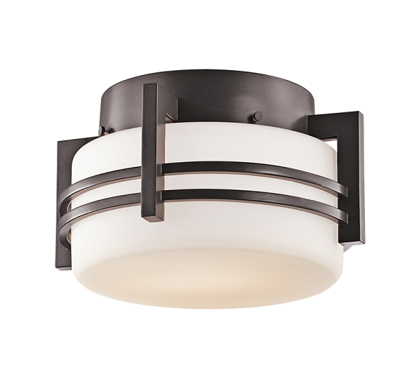 Kichler 9557 Rivera 1-lt Outdoor Flush Mount