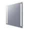 "Electric Mirror ISF-1111 Acclaim 12"" x 12"" LED Illuminated Fog-Free Mirror"