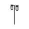"Kuzco EG17622 Davy 2-lt 24"" Tall Garden Light"