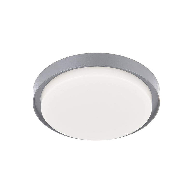 "Kuzco EC44509 Bailey 9"" Outdoor LED Flush Mount - LBC Lighting"