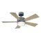 "Modern Forms FR-W1801-42L Wynd 42"" Ceiling Fan with LED Light Kit, 2700K"
