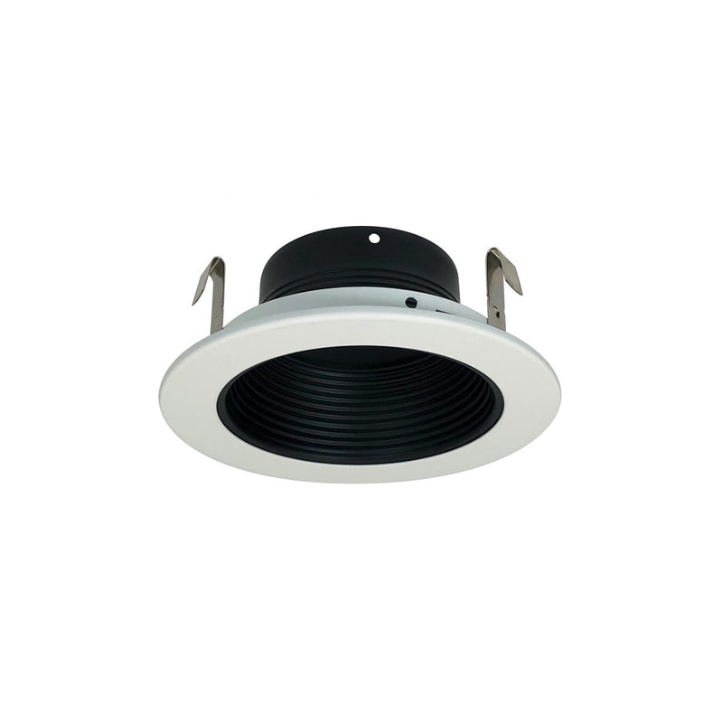 "Nora NS-41 4"" Black Stepped Baffle with Ring"