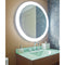 "Electric Mirror TRI-30 Trinity 30"" x 30"" LED Illuminated Mirror"