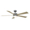 "Modern Forms FR-W1801-60L Wynd 60"" Ceiling Fan with LED Light Kit, 3500K"