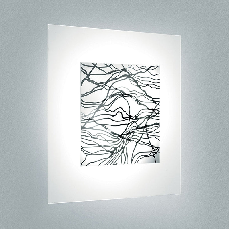 Leucos LAGUNA P35 ´PLATINO´ Wall Light
