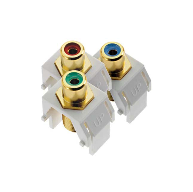 Adorne ACRGBRCAF Component Video RCA to F Kit