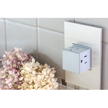 Adorne ARPTR151G 1-Gang Pop-Out Outlet - 15 Amps