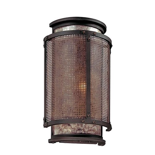 Troy Copper Mountain 1-lt Wall Sconce