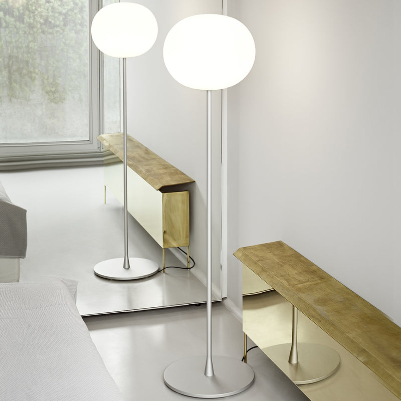 "Flos Glo-Ball F1 53"" Tall Floor Lamp"