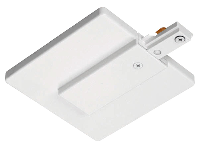 Juno R21 Trac-Lites End Feed Connector and Outlet Box Cover