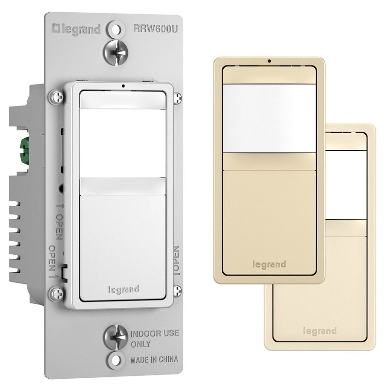 Legrand RRW600U Radiant 120V Single Pole/3-Way Occupancy Sensor and Switch