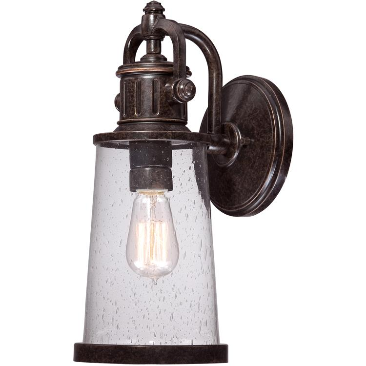 "Quoizel SDN8407 Steadman 7"" Wide Outdoor Wall Lantern"