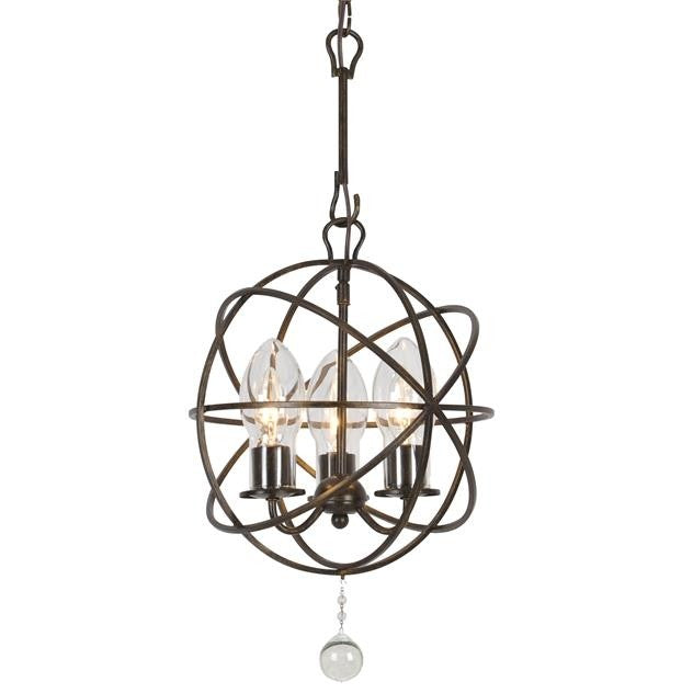 Crystorama Lighting Solaris 3-lt Outdoor Chandelier