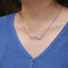 Load image into Gallery viewer, ICY Copper Name Pendant