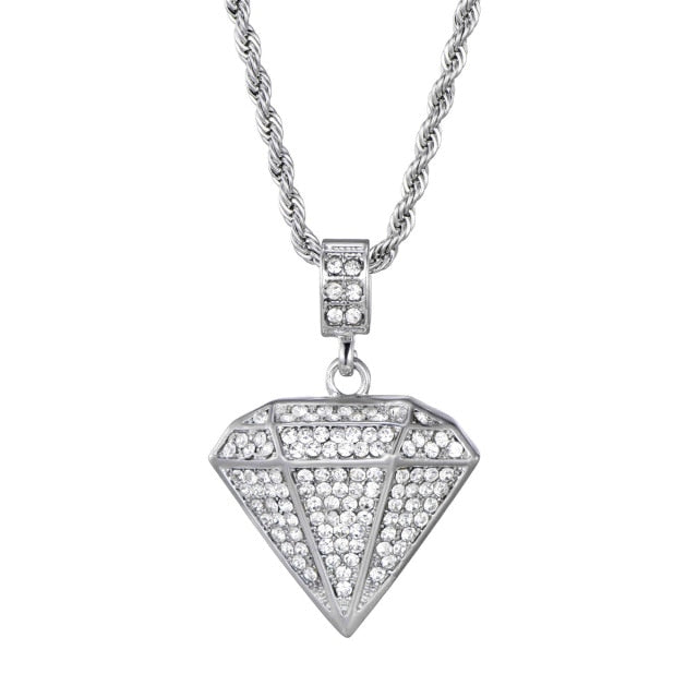 ICY Diamond Pendant