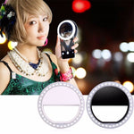 Portable Selfie Ring Light