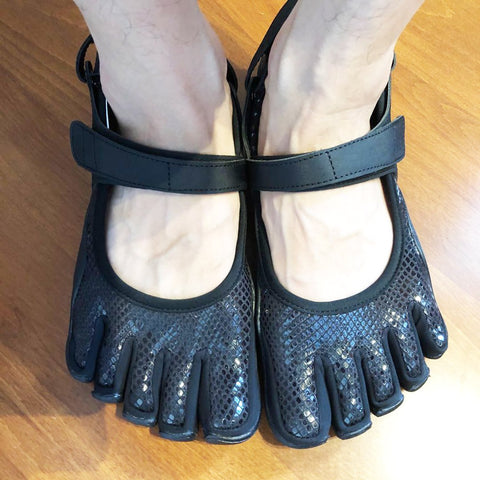 Best Five Finger Shoes Of 2021: Pumps Five Finger Shoes with a strap-style3