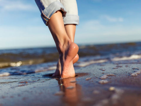 6 Benefits Of Walking Barefoot