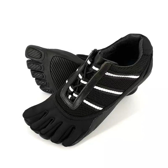 Black Five Toe Shoes No-slip Breathable Five Finger Training Shoes