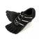 Black Five Finger Running Shoes Rubber Foot Training Shoes Five Toe Shoes
