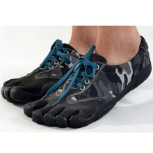 Load image into Gallery viewer, Summer Five Finger Shoes Black Camouflage Shoes For Water Sports