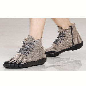 Brown High Quality Five Finger Running Boots