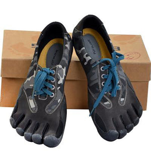 Summer Five Finger Shoes Black Camouflage Shoes For Water Sports